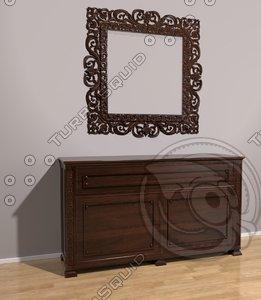 free 3ds mode dresser mirror
