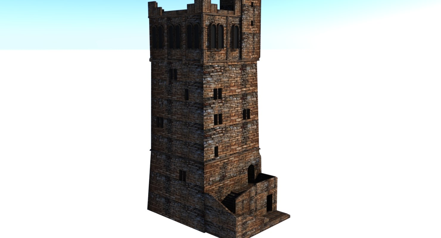 tower 3d ma