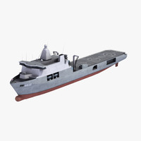 3d model of hnlms karel doorman
