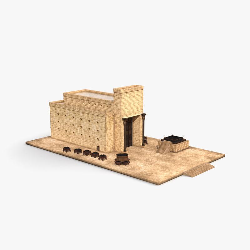 3d model of solomons temple