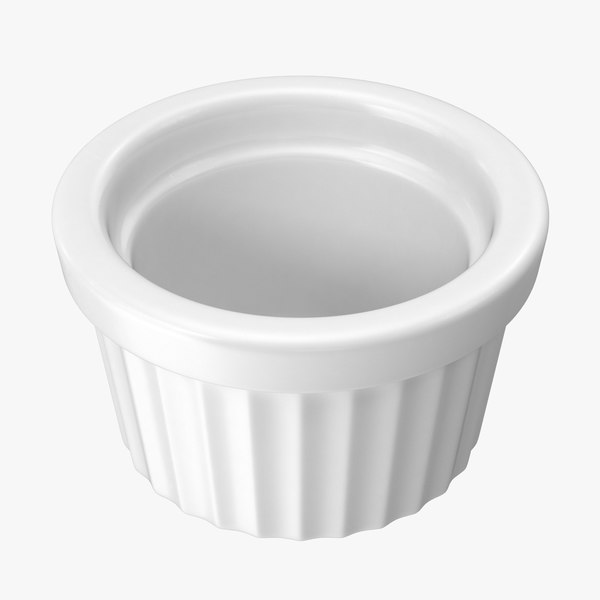 small ceramic ramekin 3d model