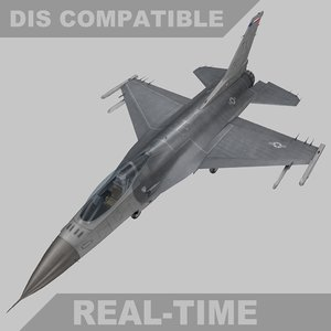 fbx time f-16c fighter