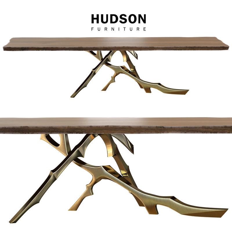 3d model table grolier hudson