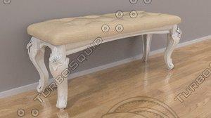 free banquet table 3d model