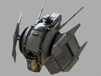 repair drone 3d model