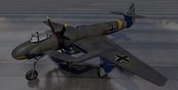 3d plane blohm voss bv-p model