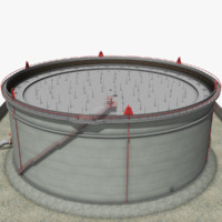 max crude oil storage tank