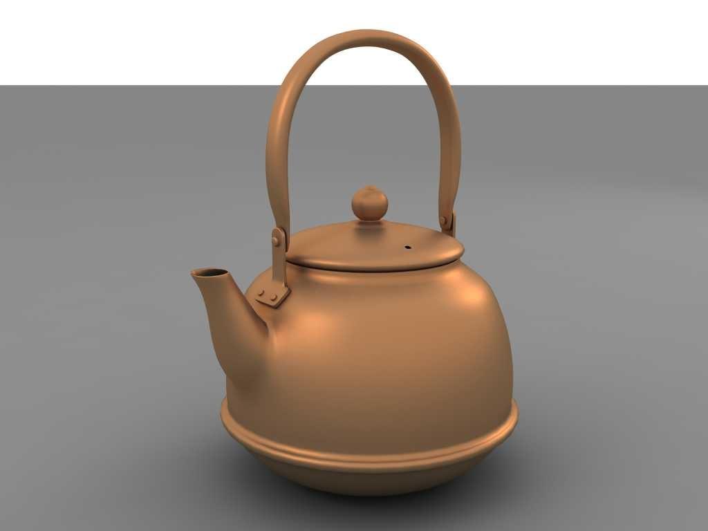 3d model kettle b