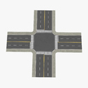 intersection 3D models
