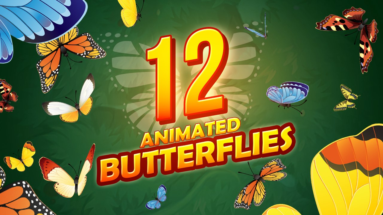 animations butterfly fbx