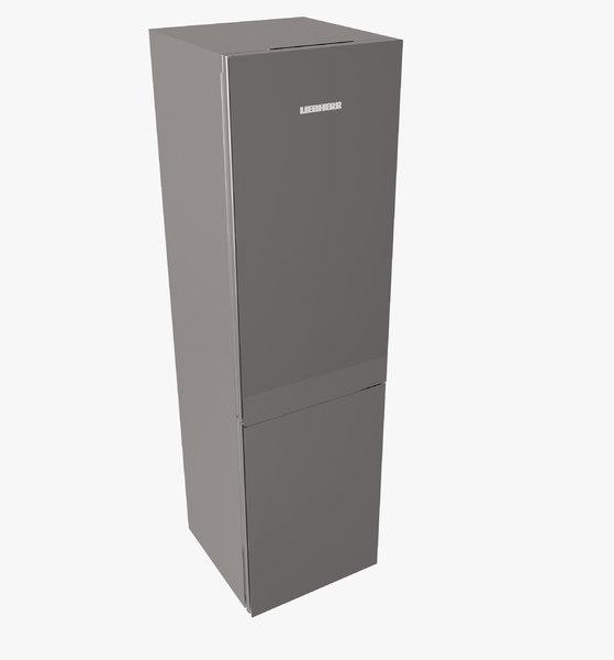 fridge liebherr 3d model