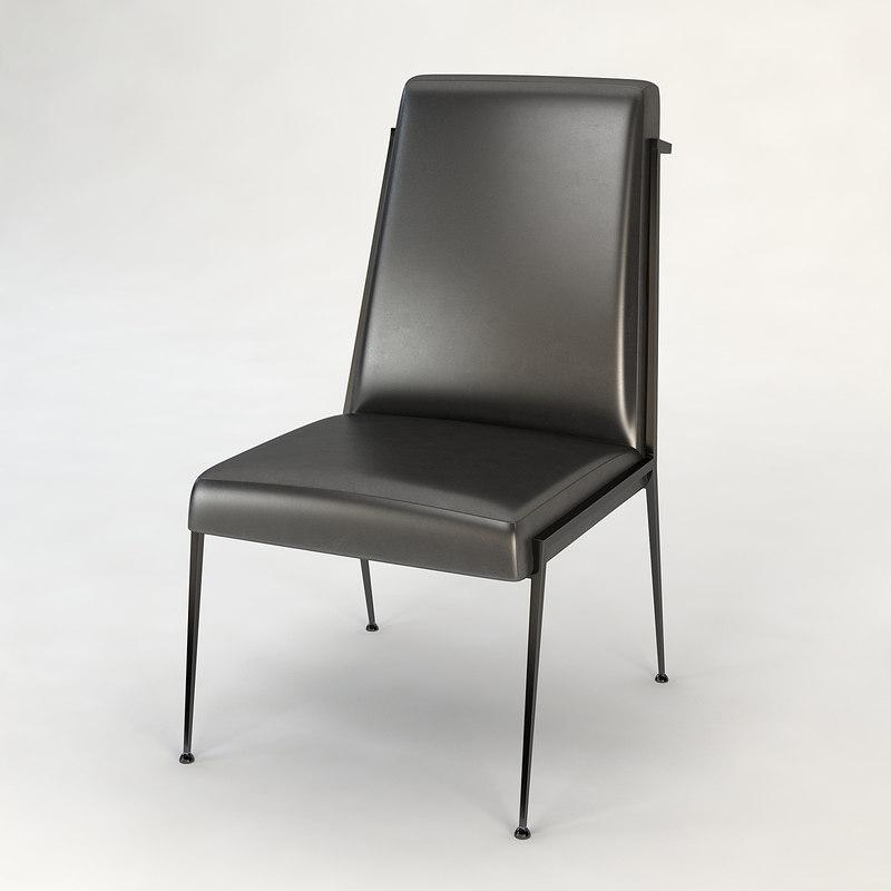 baker iron eye chair 3d 3ds