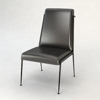 Baker Iron Eye Side Chair