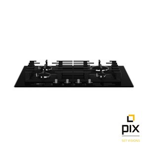worktop gas hob neff 3d model