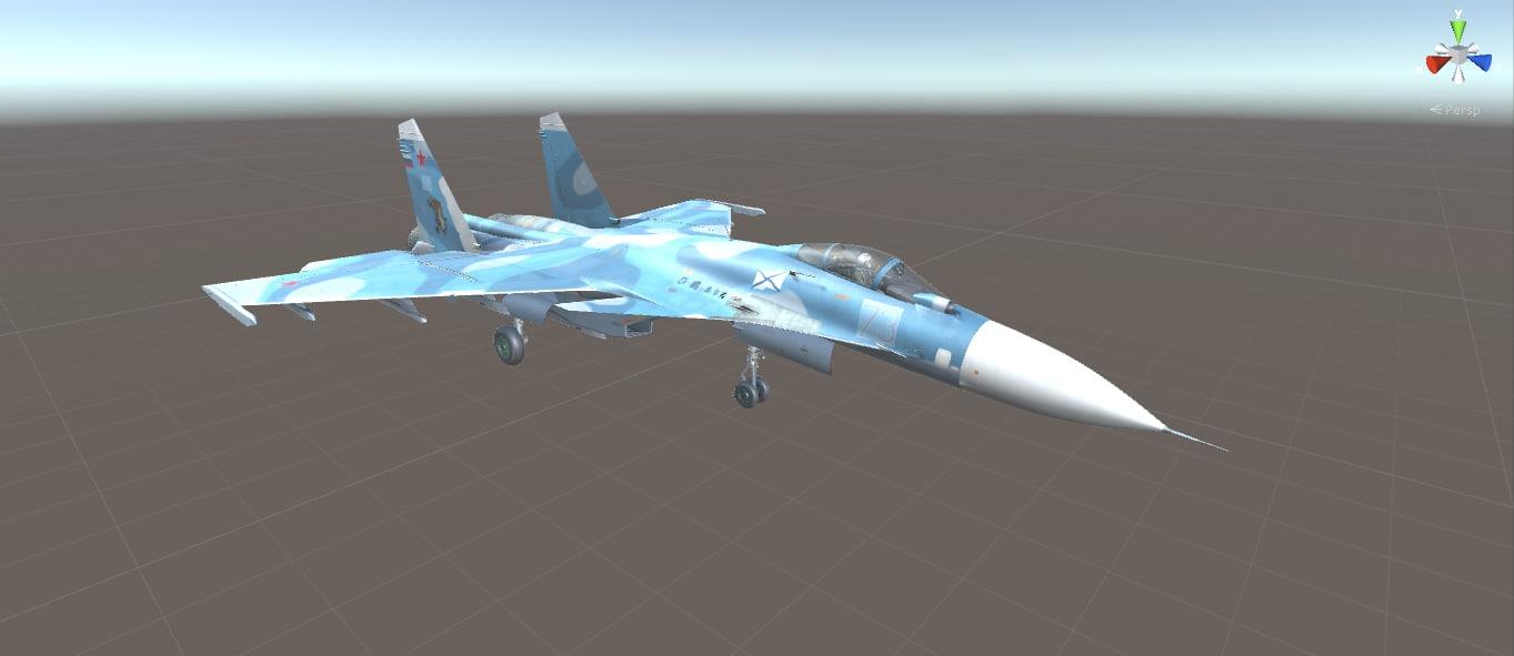 3d su-33