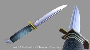 knife military 3d model
