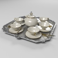 art deco coffee set max free