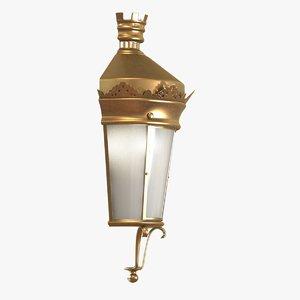 lantern classic 3d model