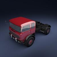 truck european 3d 3ds