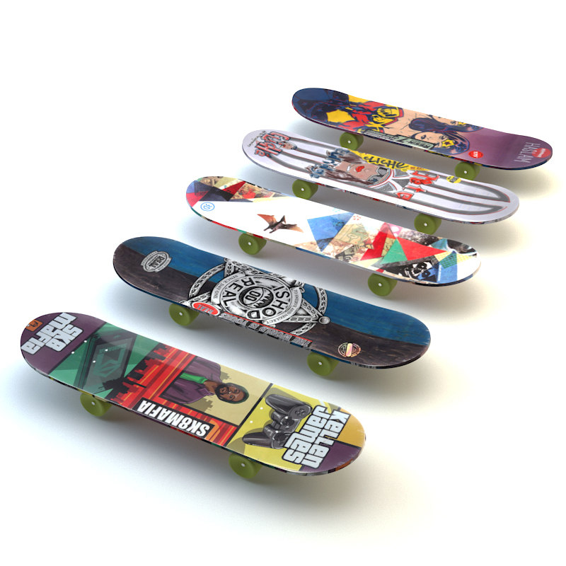 obj skateboards set