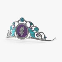 ariel inspired tiara max