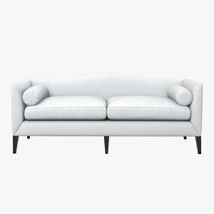 baker archetype sofa 3d max