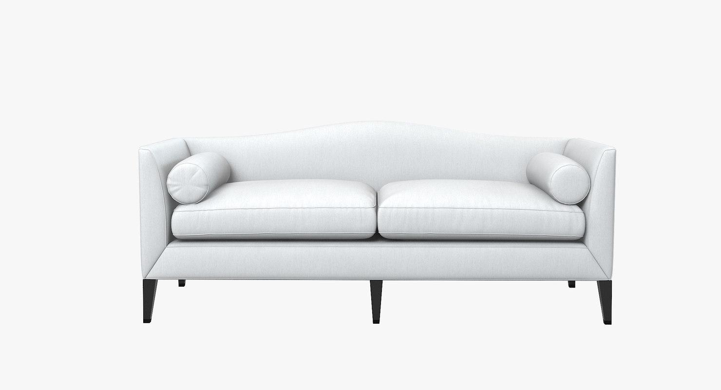 archetype furniture. Baker Archetype Sofa 3d Max Furniture