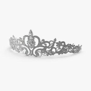 tiara 3d model