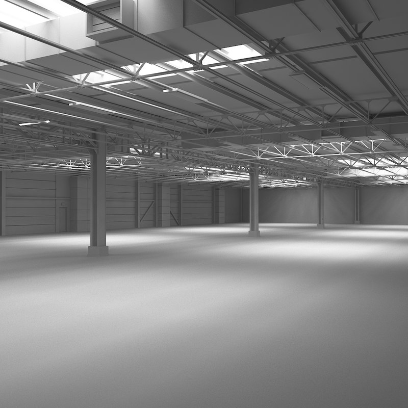 warehouse scene max