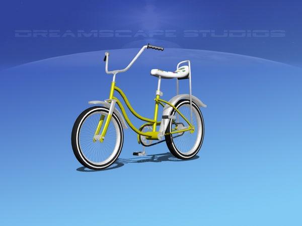 bicycle girls 1970s bikes max