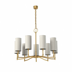 hudson valley chandelier 3d max