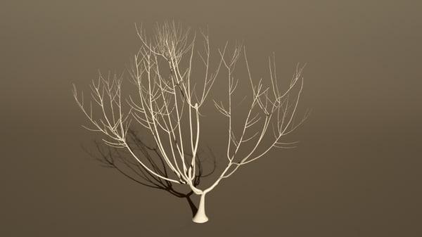 tree growing 3d 3ds