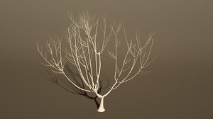 tree growing 3d 3ds