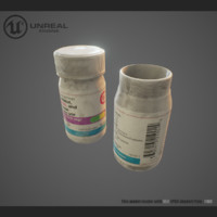 medical pills obj