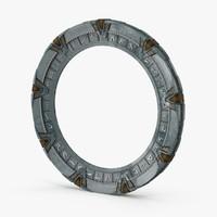 stargate portal 3d model