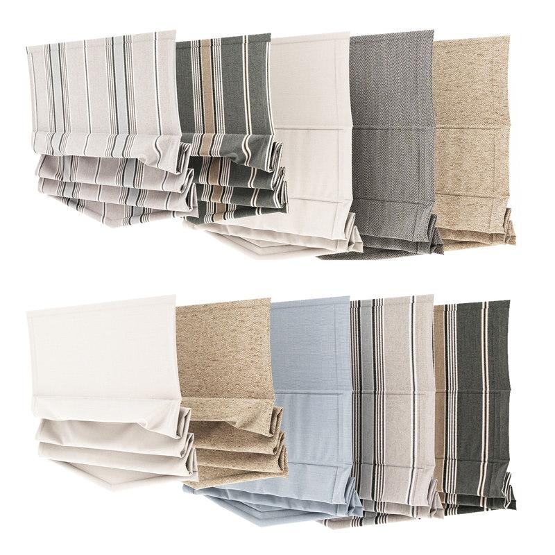 3d curtain 12 model