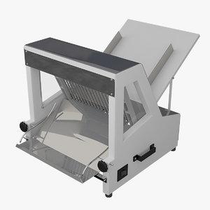 3d bread slicer model