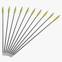 3d hunting sport arrow model