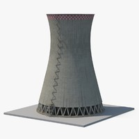 3d nuclear cooling tower