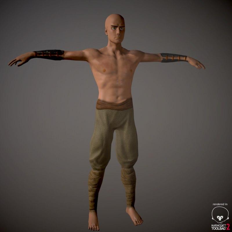battle monk x