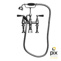 shower bath mixer tap 3d max
