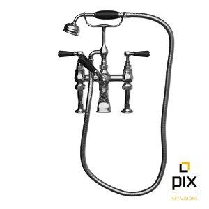 shower bath mixer tap 3d max