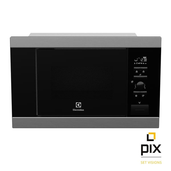 3d microwave oven electrolux built model