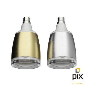3d model pulse flex speaker light bulbs