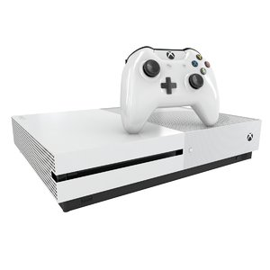 xbox s 3d model