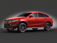 mercedes-benz gle 3d model