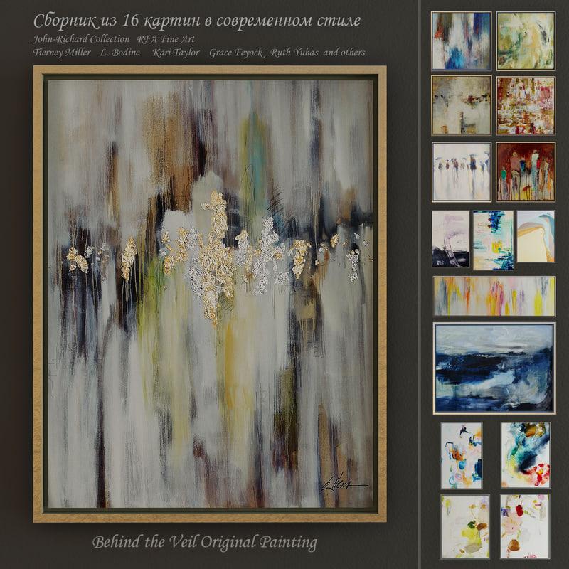paintings john-richard art 3d max