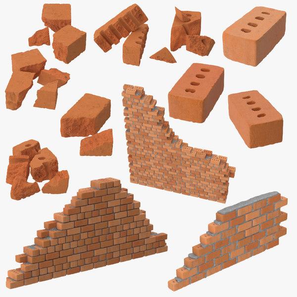 max bricks wall sections broken
