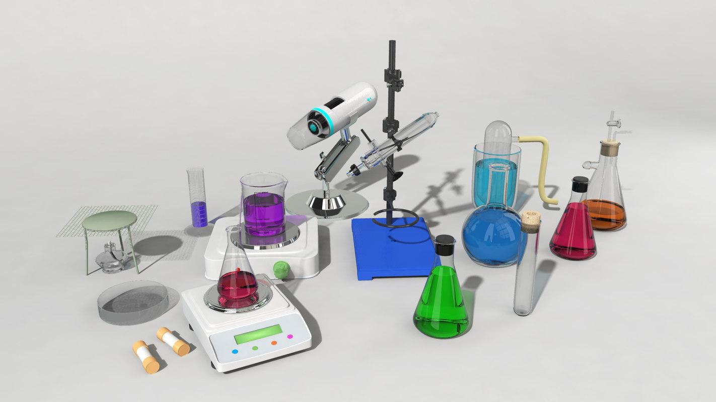 3d model of set medical