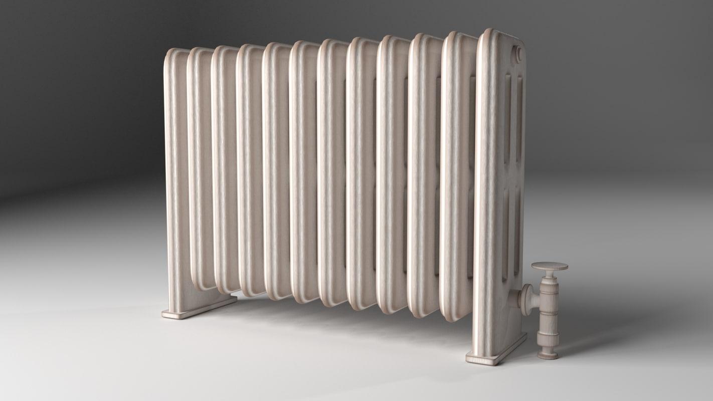 old radiator obj